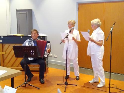 """Het muzikale duo: """"De Bettini's"""" met hun tophit: """"Witte rozen uit Atheen""""_01"""