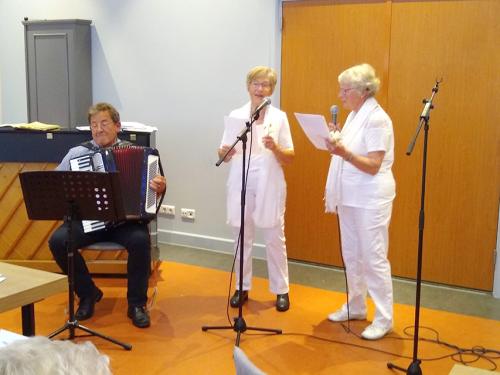 """Het muzikale duo: """"De Bettini's"""" met hun tophit: """"Witte rozen uit Atheen""""_02"""